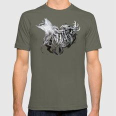 A Forest's Death Mens Fitted Tee Lieutenant SMALL