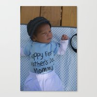 Askar for Grandma Canvas Print