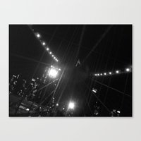 WHITEOUT : Light the Way Canvas Print