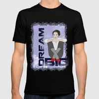 Dream Big Mens Fitted Tee Black SMALL