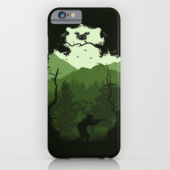 Hunting Season - Green iPhone & iPod Case