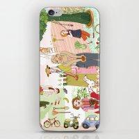 gardening iPhone & iPod Skin