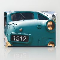 Train In Your Face iPad Case
