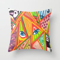Woman In Love Throw Pillow