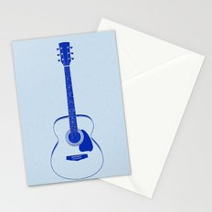 Minimalistic Guitar Stationery Cards