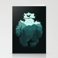 Hunting Season - Blue Stationery Cards