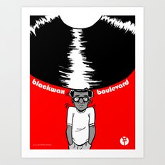 Blackwax Boulevard Poster Art Print