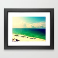 BeachTrip2012 Framed Art Print