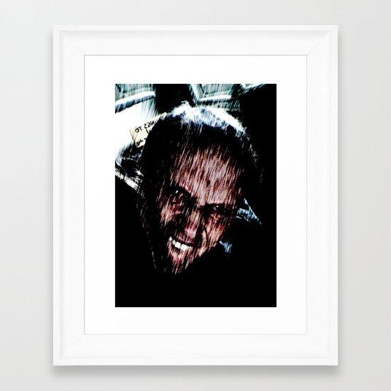 Darkside Wanderlust Framed Art Print
