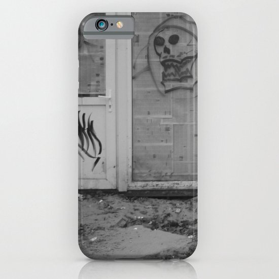 Death's newspaper booth iPhone & iPod Case