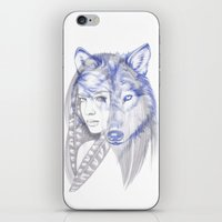She Wolf iPhone & iPod Skin