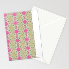 Spring Garden Pattern Stationery Cards
