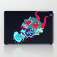 Pink Skull Goop iPad Case
