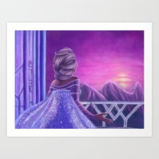 Here I Stand In The Light Of Day Art Print