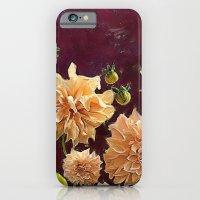 Autumn Dahlias iPhone 6 Slim Case