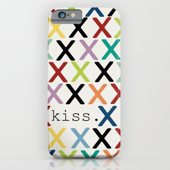 kiss. iPhone & iPod Case