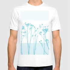 Summer Breeze SMALL Mens Fitted Tee White