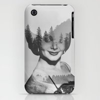 iPhone 3Gs & iPhone 3G Cases featuring outside by Peg Essert