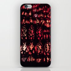 Wall of Flame iPhone & iPod Skin