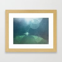 Above The Surface Framed Art Print