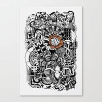 Ovillo Canvas Print