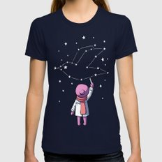 Constellation Womens Fitted Tee Navy SMALL