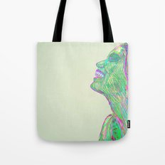 Laughing With Tote Bag