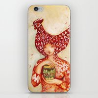 Chicken Or The Egg? iPhone & iPod Skin