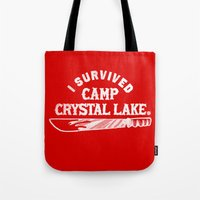 i survived friday the 13th Tote Bag
