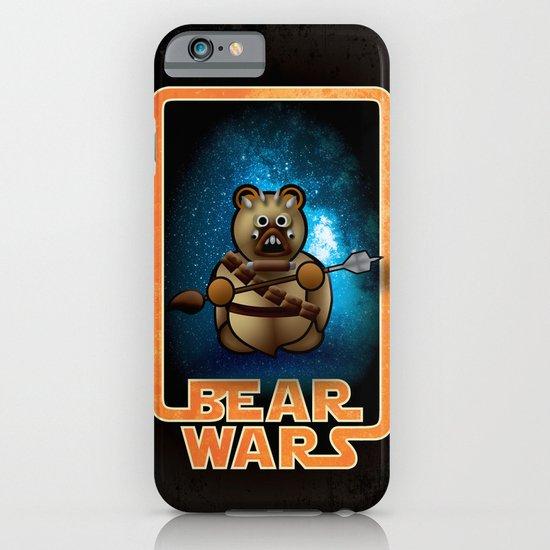 Bear Wars - Raider iPhone & iPod Case