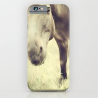 iPhone & iPod Case featuring Munching Out by Karol Livote