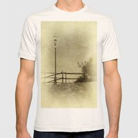 Light Of Yester-Year Mens Fitted Tee Natural SMALL