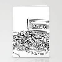 Relax & Unwind on white Stationery Cards