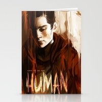 Some Of Us Are Human Stationery Cards