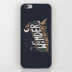 Wo/aNDER iPhone & iPod Skin
