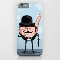 iPhone & iPod Case featuring Sir Pinky by Fabian Gonzalez