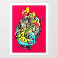 Popcity Art Print