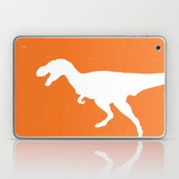 T-rex Orange Dinosaur Laptop & iPad Skin