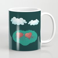 Hearts In The Clouds Mug