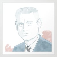 George Jones 1931-2013 Art Print