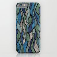 iPhone & iPod Case featuring Waves by silb_ck