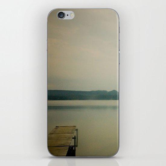 Herring Lake Dock iPhone & iPod Skin