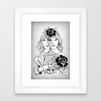 Destot's Space Framed Art Print
