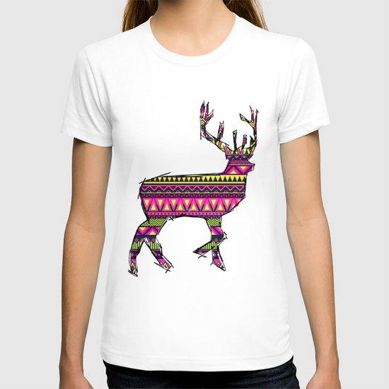 Deer Navajos pattern T-shirt