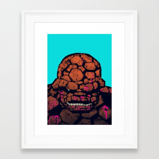 Whump! Framed Art Print