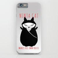 Ninja Cat iPhone 6 Slim Case