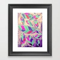 Lovely Leaves Drifting D… Framed Art Print