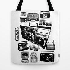 Radios Tote Bag