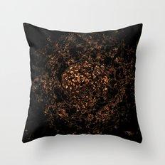 foxtrot zebra 17 Throw Pillow