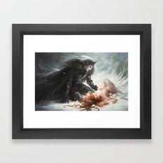 Hades and Persephone Framed Art Print